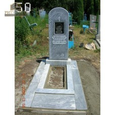 Памятник из мрамора стандарт 50 — ritualum.ru