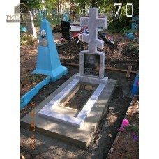 Памятник из мрамора стандарт 70 — ritualum.ru
