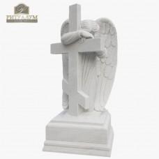 Скульптура ангела из мрамора №108 — ritualum.ru