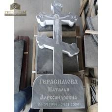 Крест из мрамора — ritualum.ru
